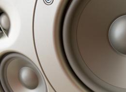Hi-Fi speaker front