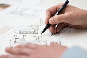 Drawing for building