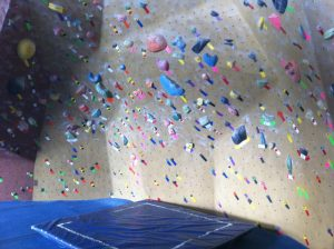 bouldering mat