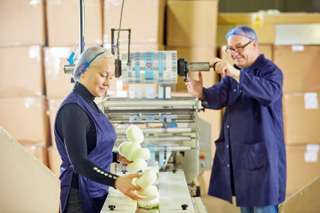 foam engineers checking machines